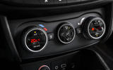 Fiat Tipo climate controls