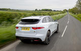 Jaguar F-Pace S rear