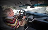Driving the Opel Ampera-e
