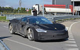 2021 Ferrari SF90 Stradale convertible spy shot