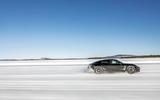 Porsche Taycan prototypes in winter testing