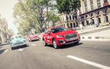 Audi Q2 in traffic