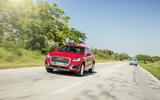 Audi Q2 on the road