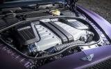 6.0-litre W12 Bentley Continental GT engine