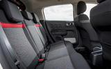Citroen C3 rear seats