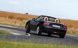 Fiat 124 Spider rear cornering