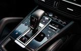 Porsche Cayenne Coupe 2019 UK review - gear selector