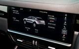 Porsche Cayenne Coupe 2019 UK review - infotainment