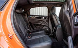 Porsche Cayenne Coupe 2019 UK review - rear seats