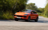 Porsche Cayenne Coupe 2019 UK review - front