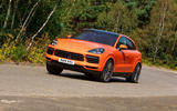 Porsche Cayenne Coupe 2019 UK review - hero front