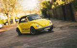 Electric Beetle - cornering front