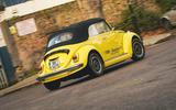 Electric Beetle - cornering rear