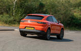 Porsche Cayenne Coupe 2019 UK review - rear