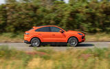 Porsche Cayenne Coupe 2019 UK review - side