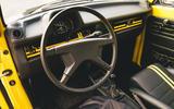 Electric Beetle - steering wheel