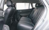 2020 MG 5 - rear seats