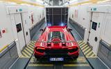 2019 Lamborghini Huracan Performante - in the Eurotunnel