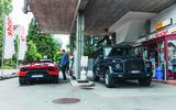 2019 Lamborghini Huracan Performante - filling up