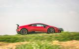2019 Lamborghini Huracan Performante - side
