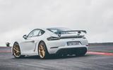 Porsche 718 Cayman GT4 static - rear