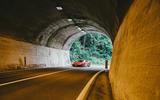2019 Lamborghini Huracan Performante - entering tunnel