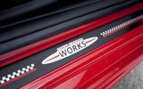 Mini Cooper S Works 210 scuff plates