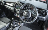 Mini Cooper S Works 210 interior