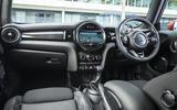 Mini Cooper S Works 210 dashboard