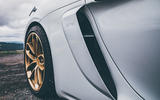 Porsche 718 Cayman GT4 static - air intake