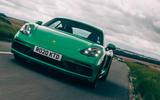 Porsche Cayman GTS 4.0   tracking front