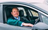 Dan Geoghegan with Jaguar I-Pace