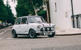 Driving the David Brown Mini Remastered in London