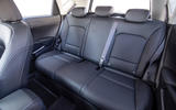 Kia Soul EV rear seats