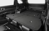 2020 Kia Sorento unveiling - rear seats folded
