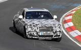 Rolls-Royce Ghost Nurburgring spies  front