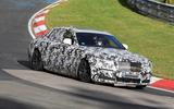 Rolls-Royce Ghost Nurburgring spies front side close