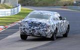 Rolls-Royce Ghost Nurburgring spies rear cornering