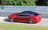 Tesla Model S Plaid prototype at Nurburgring - side