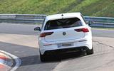 2020 Volkswagen Golf R prototype at Nurburgring