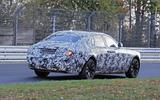 Rolls-Royce Ghost Nurburgring spies rear