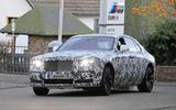 Rolls-Royce Ghost Nurburgring spies front BMW M