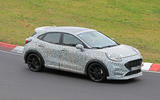 2020 Ford Puma ST prototype at Nurburgring