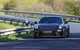 2020 Porsche 911 GT3 prototype at Nurburgring