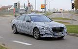 Mercedes S-Class spyshots new front side