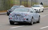 Mercedes S-Class spyshots new rear