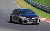 2021 Audi RS3 prototype at the Nurburgring