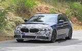 2021 BMW 5 Series saloon prototype - front