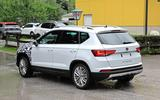 Disguised Seat Ateca on the road