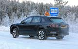 2020 Bentley Bentayga prototype - winter testing